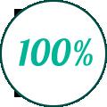 100% Satisfait ou remboursé